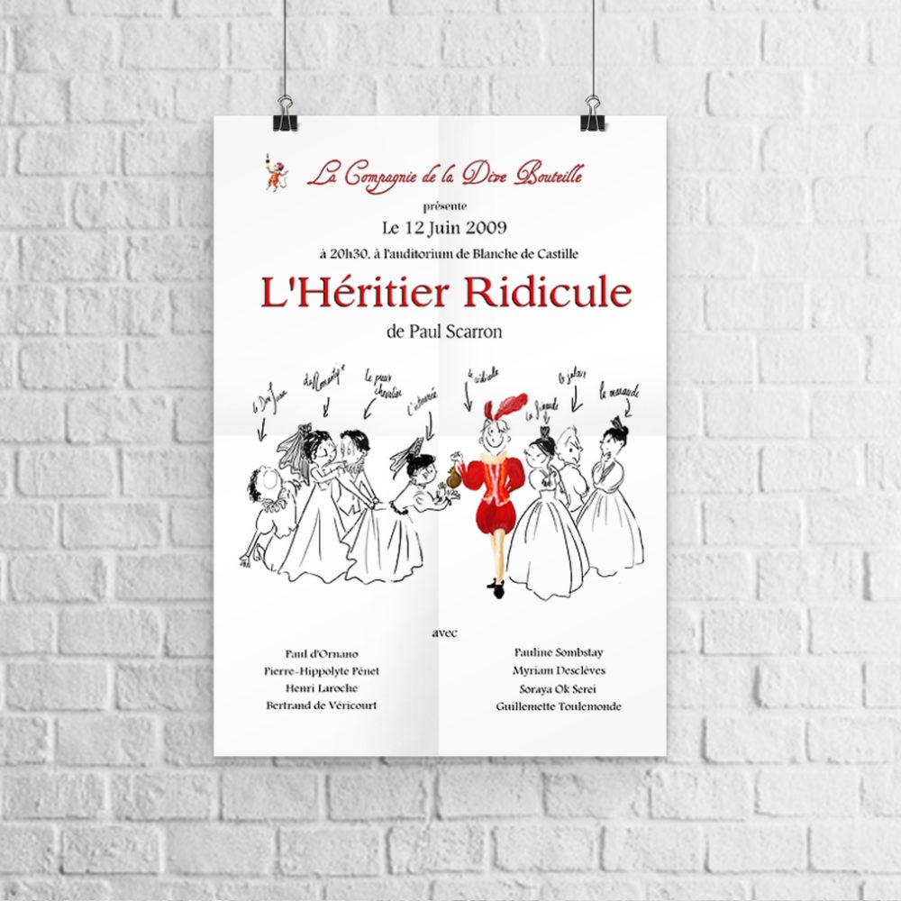 Cie-dive-bouteille_affiche-heritier-ridicule