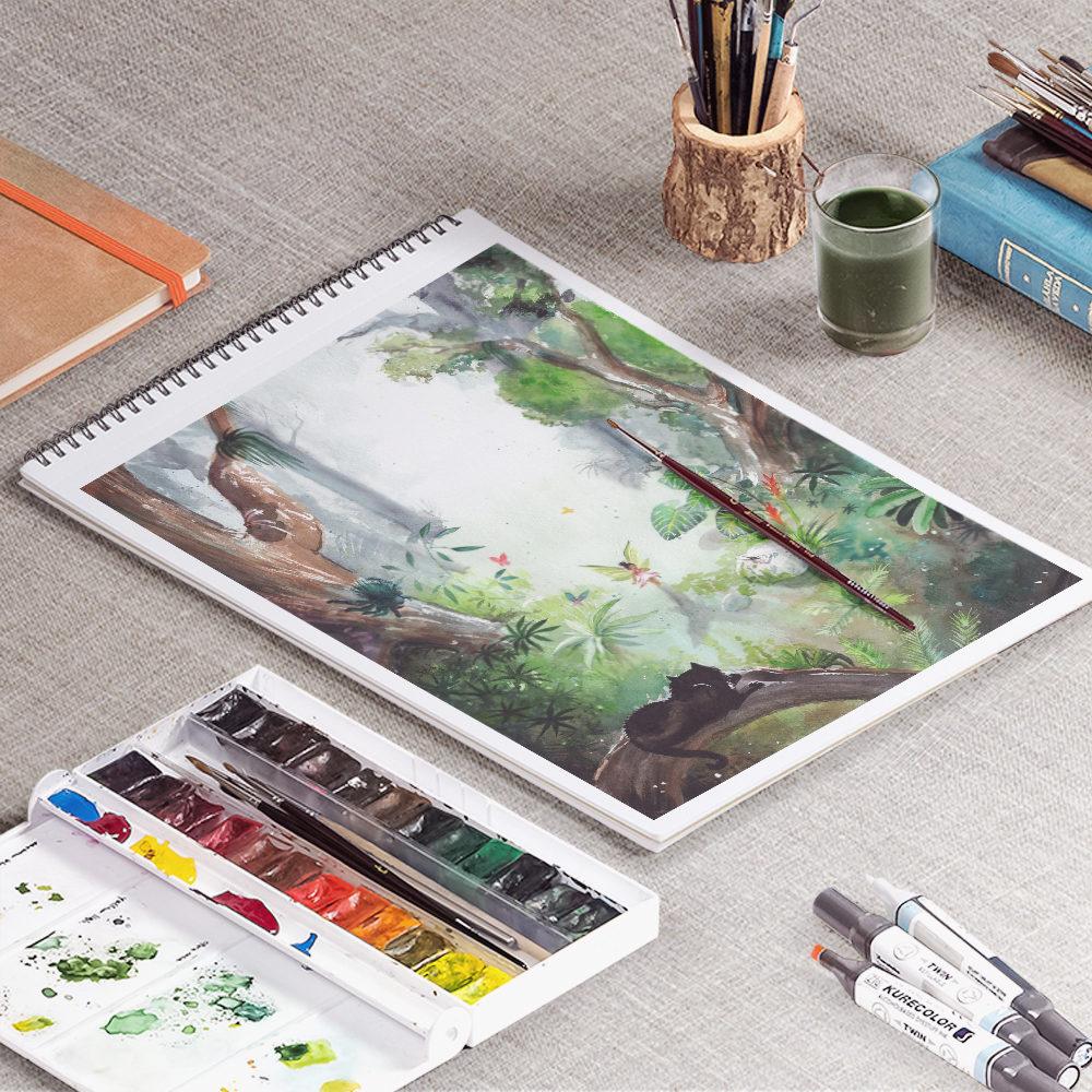illustration aquarelle martinique antilles