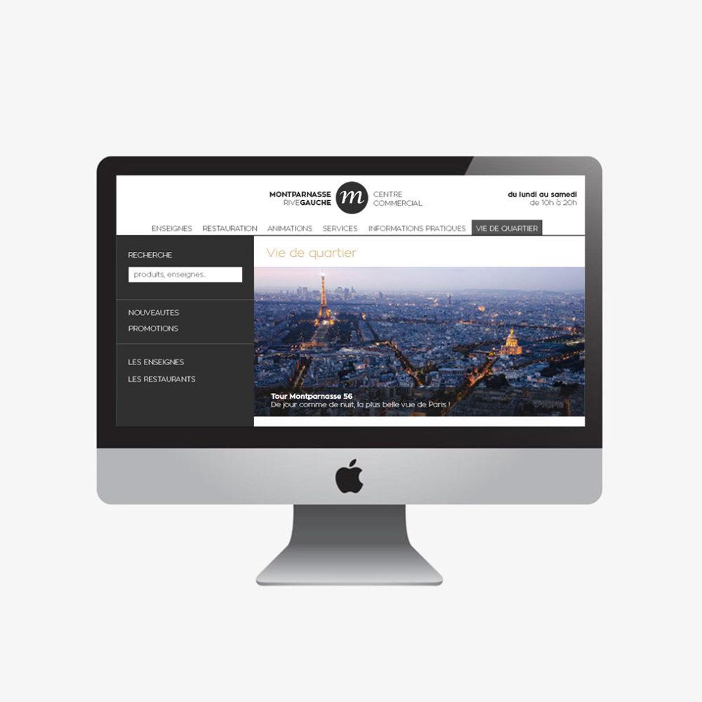webdesign site montparnasse