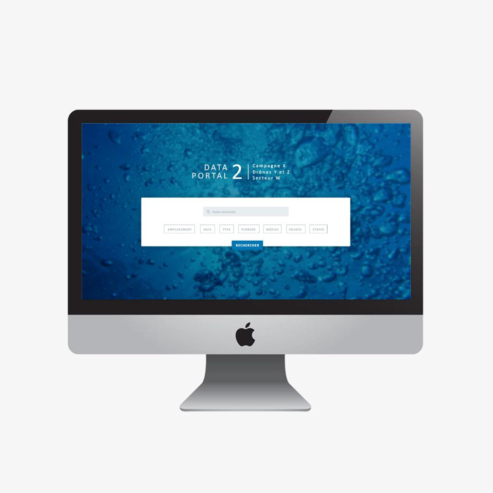 site webdesign data portal
