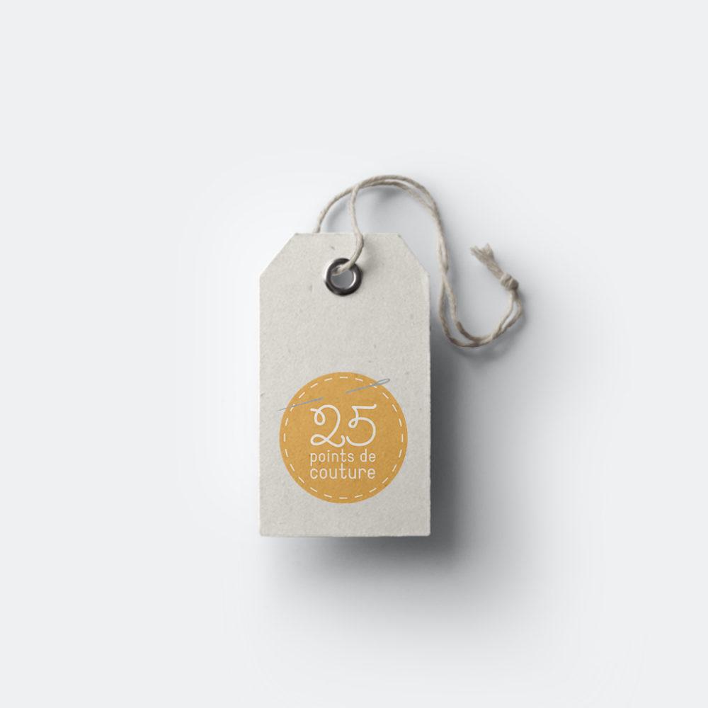Logo 25 points de couture